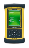 trimble nomad handheld device